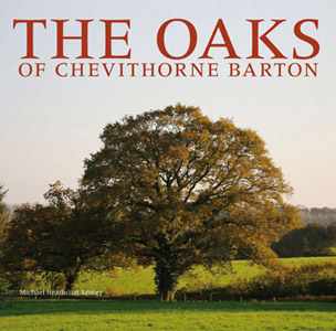 The Oaks of Chevithorne Barton Book Front Cover